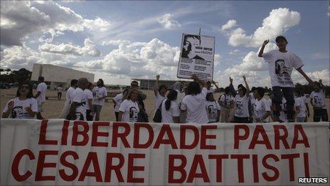Brazil rejects Battisti appeal
