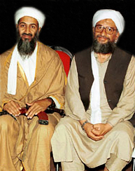 Zawahiri and Osama Bin Laden