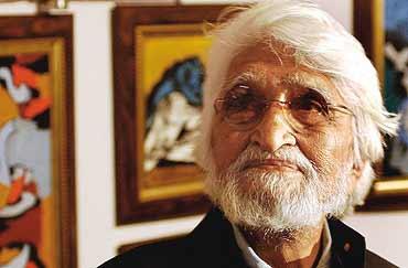 mf hussain passed away