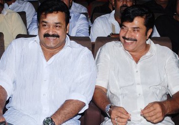 Mammooty and Mohanlal