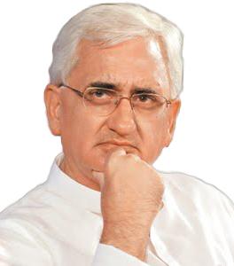 Salman Khursheed law minister