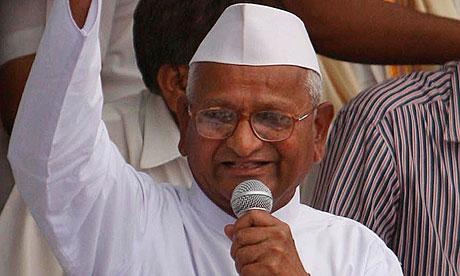 Anna Hazare arrested