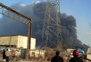 chemical plant blast in China