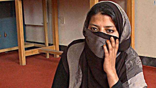 Afghan rape victim Gulnaz